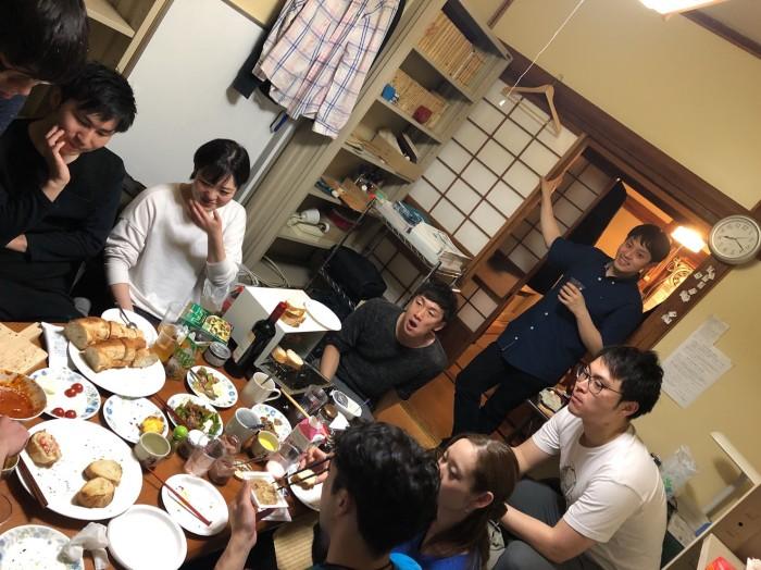 Sakura no Sonoの反省会をしていたら、余ってたフランスパンがあまりに美味しすぎて、食べ_12.jpg